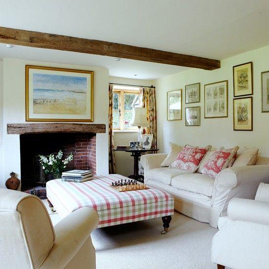 Alwinton Corner Sofa Handmade Fabric. Living Room ...