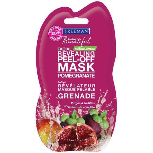 Freeman Slupovací pleťová maska s granátovým jablkem (Facial Revealing Peel-Off Mask) nejlevněji v e-shopu Krasa.cz