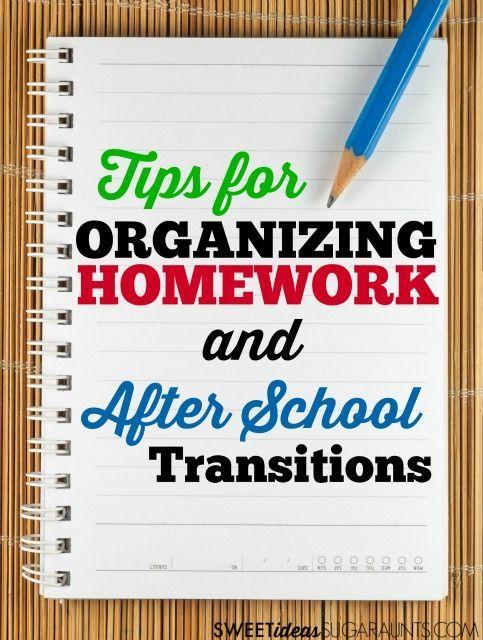 How To Help Disorgnaized Kids Organize Their Homework