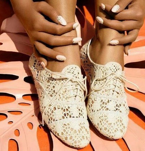 Super cute summer shoes! Perfect for a beachy vow renewal! ;)