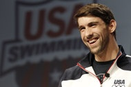 Michael Phelps could go after 10 medals at the 2012 Games. (Getty Images)