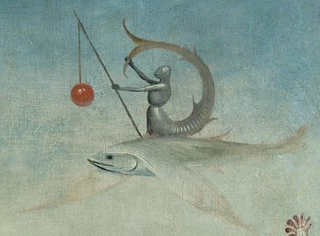 Hieronymus Bosch [1450-1516] The Garden of Earthly Delights, detail (zeeridder)