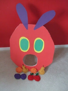 Enchanted Schoolhouse: A Very Hungry Caterpillar Party - Feed the Caterpillar Beanbag Toss Game!