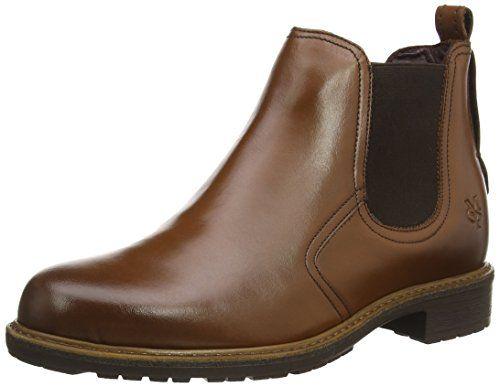 Marc O'Polo Chelsea Boot, Damen Chelsea Boots, Braun (720 cognac), 40 EU - http://uhr.haus/marc-opolo/40-eu-marc-opolo-damen-chelsea-boots