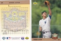 2 UPPER DECK DEREK JETER ROOKIE CARDS #449