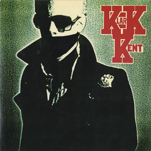 "For Sale - Klark Kent Don't Care - Green Vinyl UK  7"" vinyl single (7 inch record) - See this and 250,000 other rare & vintage vinyl records, singles, LPs & CDs at http://eil.com"