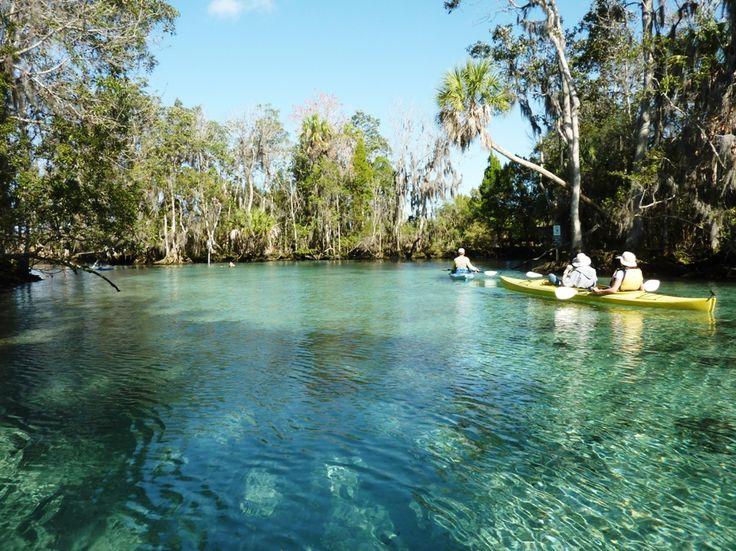 Crystal River, Florida.