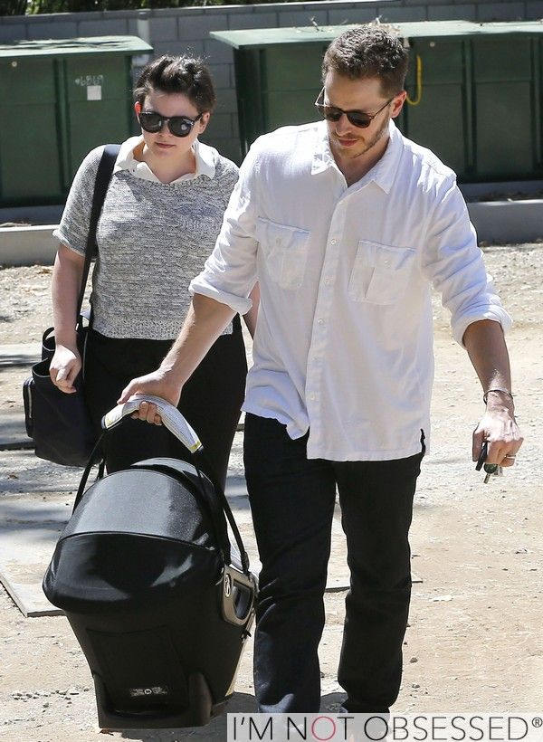 ABCTV Ginnifer Goodwin & Josh Dallas 'Once Upon A Time' Stars Have A Day Out With Baby Oliver #OnceABC