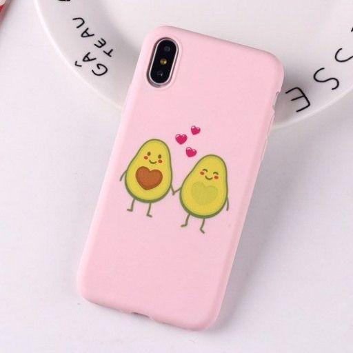 Niedliche Avocado Cactus Lover Silikon Handyhülle – Kuru Store #phoneaccessories #ph …   – Phone Accessories