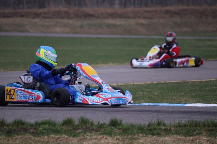 EDKRA Practice: March 2014 Mini Max Rotax Energy Corse Kart