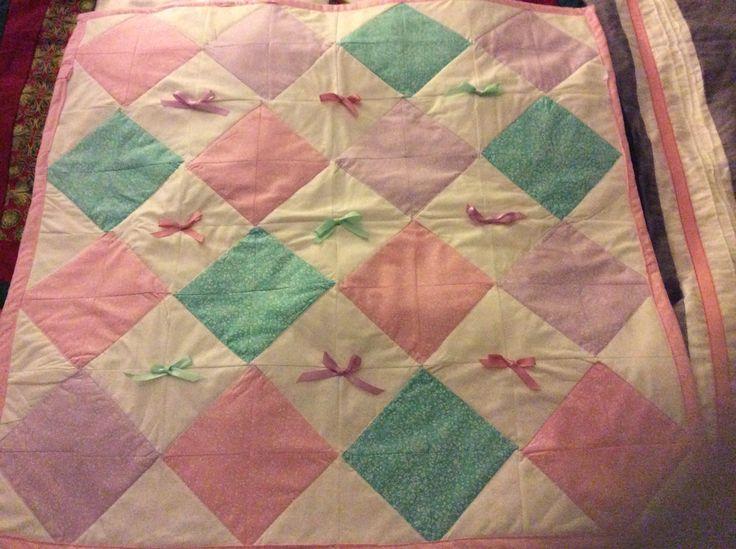 Baby quilt....