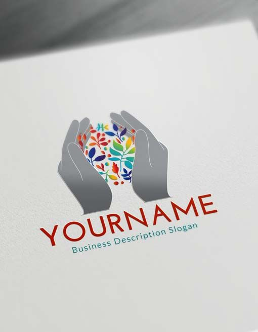 Free Logo Maker Human Hands Logo Creator
