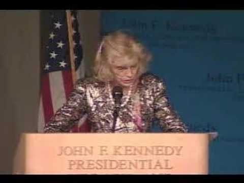 Eunice Kennedy Shriver discusses her life and legacy - YouTube