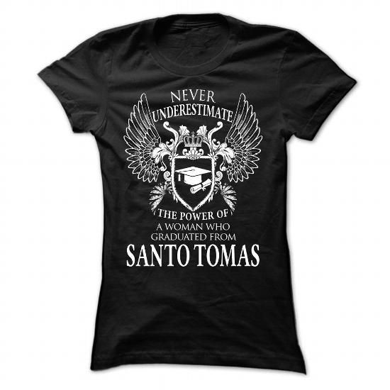 Santo Tomas - #anniversary gift #inexpensive gift. GET => https://www.sunfrog.com/No-Category/Santo-Tomas-Black-Ladies.html?68278
