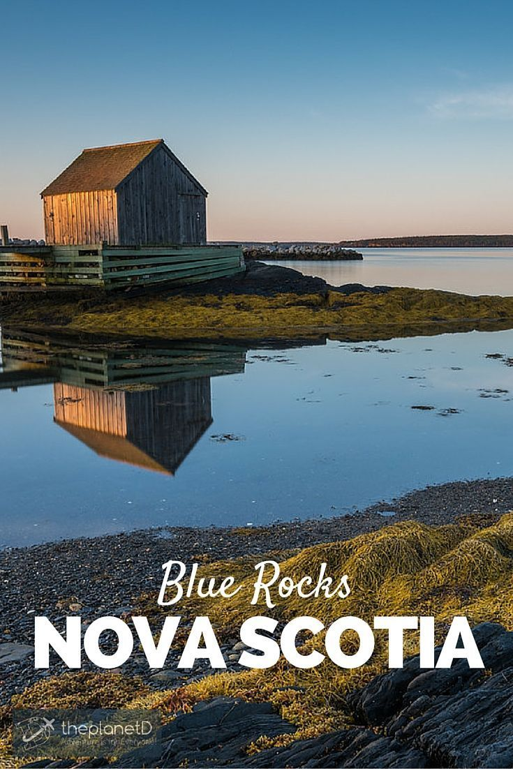 Morning light in Blue Rocks, Nova Scotia | Located just outside of Lunenburg, Blue Rocks is yet another picturesque fishing village | The Planet D Adventure Travel Blog