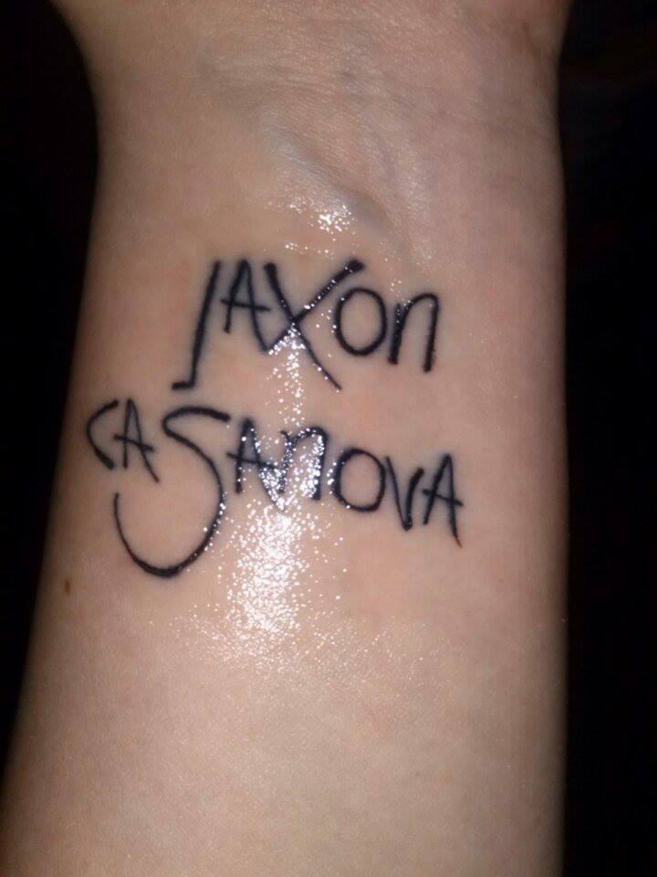 My son's name :] #tattoo #font #lettering #name