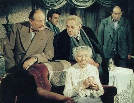 El Quinteto de la muerte (The Ladykillers - Alexander Mackendrick, 1955)