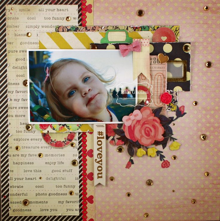 Just too Obsessed: Scrap the Girls June Challenge