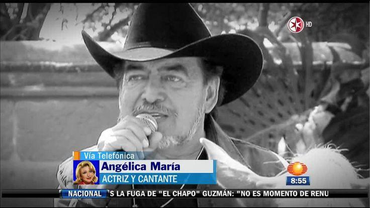 """Angélica María, no puedo creer que su amigo Joan Sebastian, perdió la batalla contra el cáncer.  """"Tantos años luchando contra esa enfermedad terrible, yo creo que todos lo que lo amamos, lloramos por él, es una noticia terrible"""".  En un mar de llanto, la famosa cantante, le envió emotivas palabras al oriundo de... Ver artículo"""