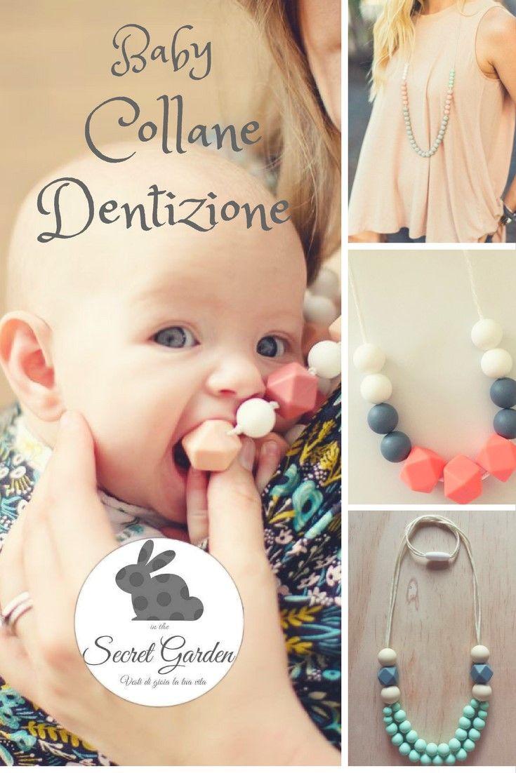 Cosa sono ed a cosa servono le collane dentizione o allattamento? Sono gioielli creati appositamente per essere maneggiati dai bambini piccoli. Breve guida.