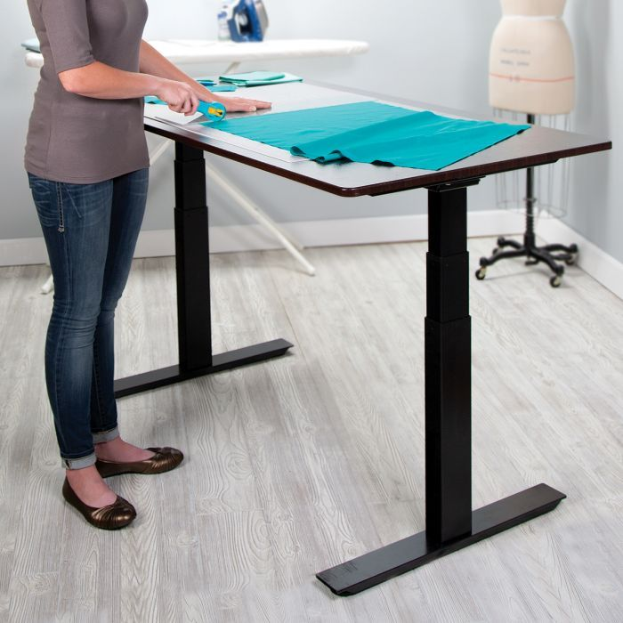 Motorized Adjustable Height Sewing Table With Images Sewing