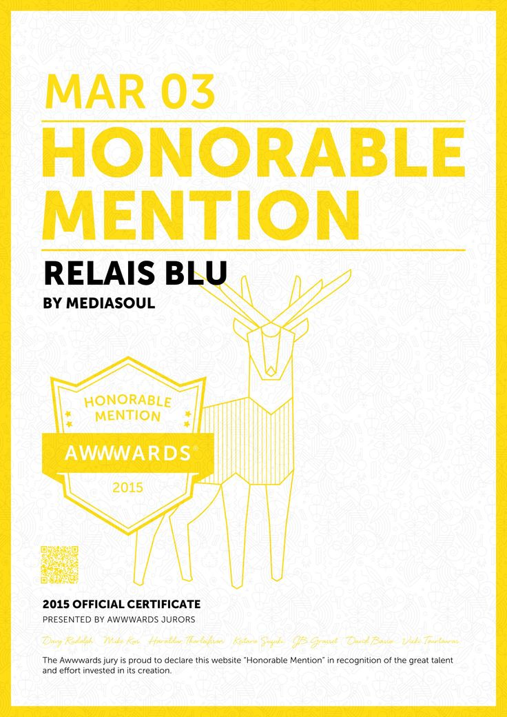 Relais Blu Web Site