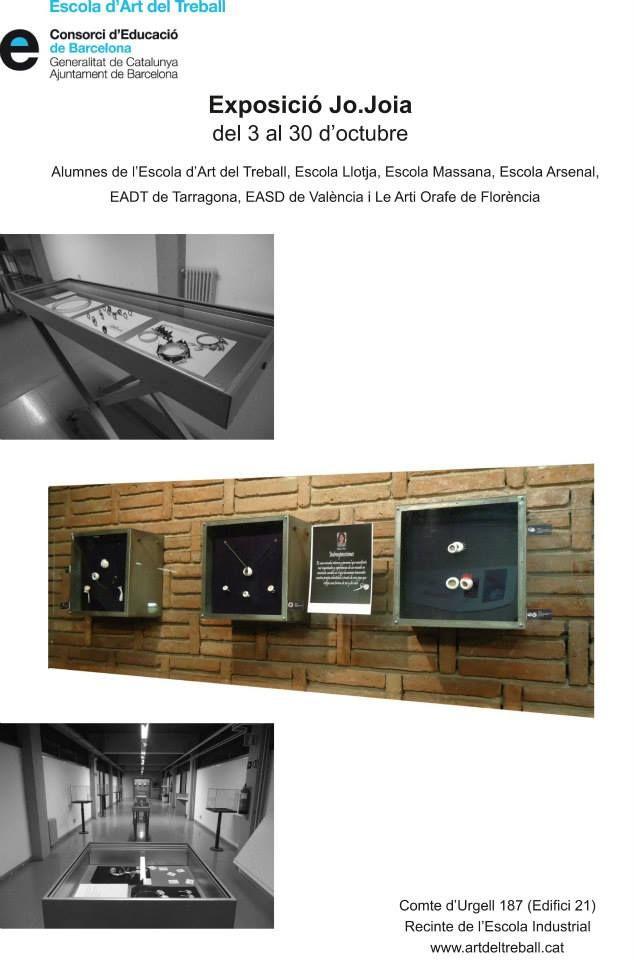 """OFF JOYA : Escola d'Art del Treball presents """"Jo.Joia"""""""