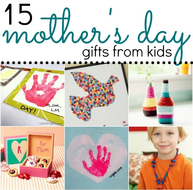 15  Adorable Mother\u2019s Day Gift Ideas from Kids  Recipe \u0026 Holiday Favorites  Pinterest  Gift