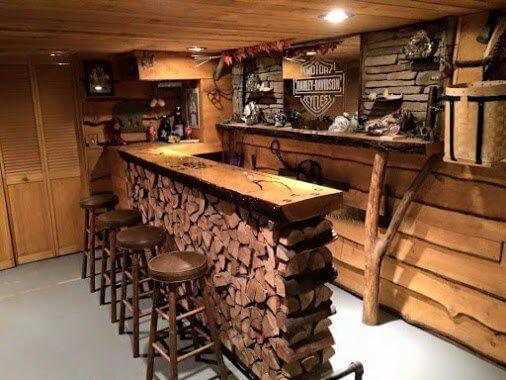 Лодка бар,деревянная барная стойка.      Столярный блог.