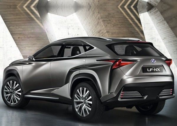 Lexus LF NX Release 600x429 2013 Lexus LF NX Concept Reviews