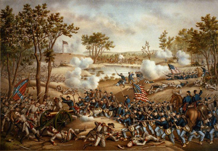 Battle of Cold Harbor - Wikipedia