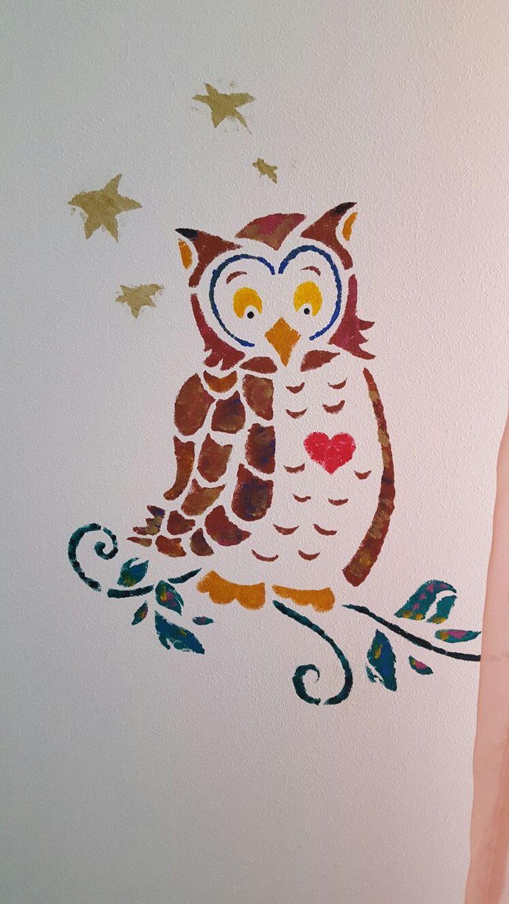Stancil murale
