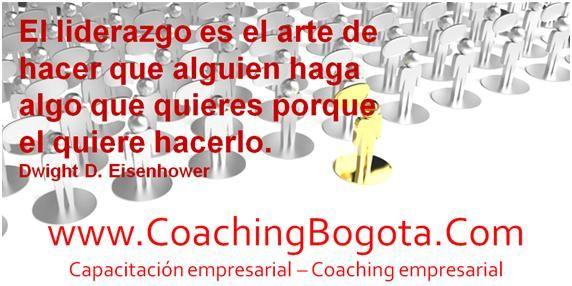 El liderazgo es el arte de hacer que alguien haga algo que quieres porque el quiere hacerlo. Dwight D. Eisenhower