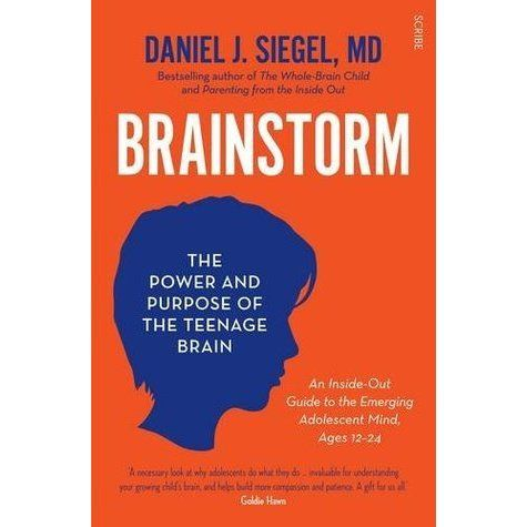 Siegel illuminates how brain development impacts teenagers' behaviour and relationships. Drawing on important new research in the field of interpersonal neurobiology, he explores exciting ways in which understanding how the teenage brain functions can help parents make what is in fact an incredibly positive period of growth, change, and experimentation in their children's lives less lonely and distressing. See if it is available: http://www.library.cbhs.school.nz/oliver/libraryHome.do