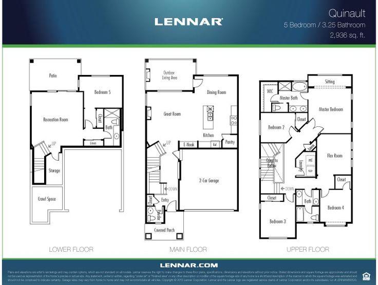 1000+ Images About Lennar Seattle Floorplans On Pinterest
