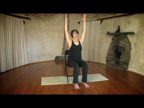 Yoga on a chair with Jessica Hatchett