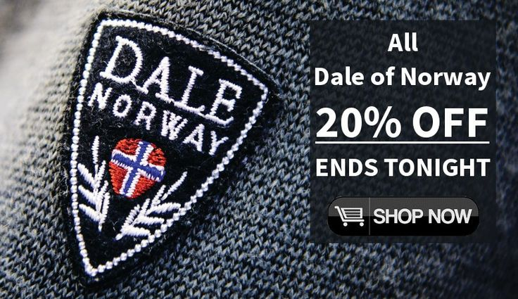 Dale of Norway collection - 20% OFF!