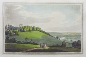 Hedsor Lodge looking towards Maidenhead by Joseph Constantine Stadler after Joseph Faringdon