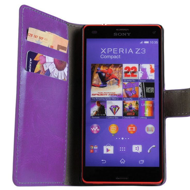 New Case - Purple Luxury Leather Wallet Stand Case for Sony Xperia Z3 Compact, $15.95 (http://www.newcase.com.au/purple-luxury-leather-wallet-stand-case-for-sony-xperia-z3-compact/)