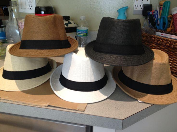 Fedora Hats for Men's Favors