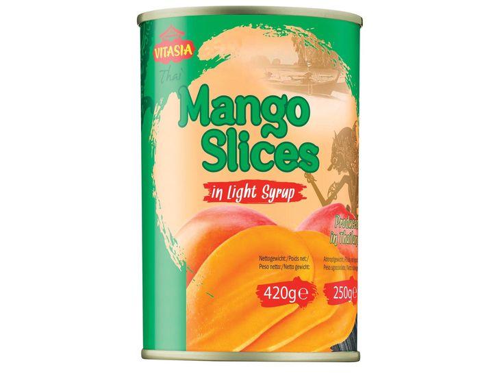 LIDL - Fette di mango sciroppate, 1.19 € - dal 17.07 fino a esaurimento scorte #mango #syrup #can