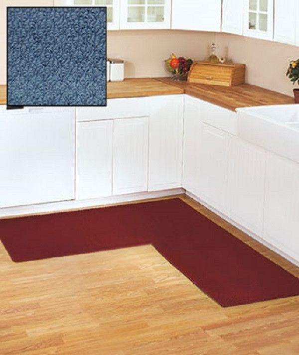 Corner Runner Rug Carpet Berber Kitchen Hallway Garage L