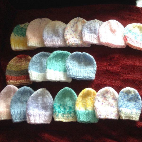 Neonatal Prem Baby Hat Knitting Pattern By Katy G Knitting Designs