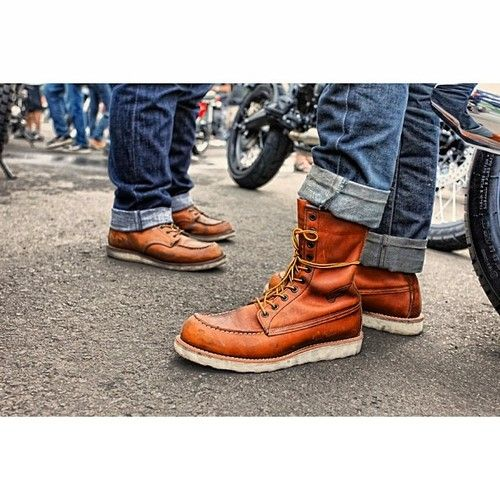 Red Wing 875 & Red Wing 877 #redwingheritage #redwing #redwingamsterdam (at TROUPE | Brut Rides Industry)