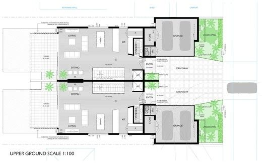 Chiswick Residence,Plan