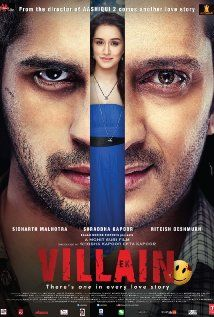 The Villain (2014) When his lover becomes the latest victim of a serial killer, Guru blurs the line between good and evil in his pursuit of revenge. [seen! I expected a lot more twist, but it did not disappoint me, the film's riveting rhythm, soothing music, breathtaking performances ​from​ Sidharth and Riteish turns Ek Villain into ​​magnificent​, creepy and​ ​emotional ​watch] 7/10