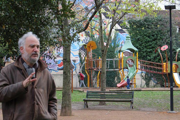 We-traders - Parcours#2 - Passage au Jardin d'Embarthe, quartier Arnaud Bernard, Toulouse