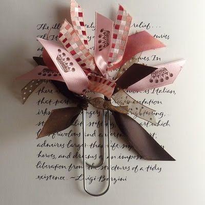 Tassel Ribbon Paperclip