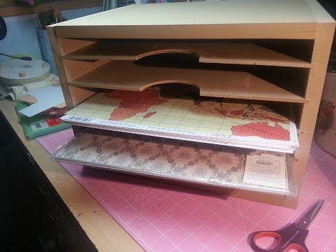 Best 25 papel scrapbooking ideas on pinterest - Organizador de papeles ...