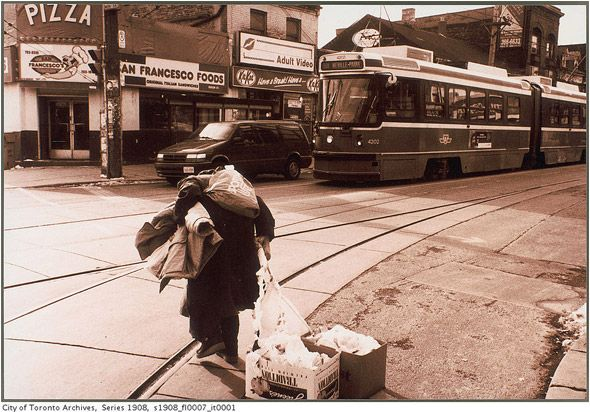 What Queen West looked like in the 1990s - Toronto